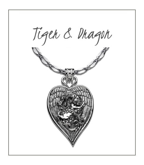 Tiger and Dragon Necklace