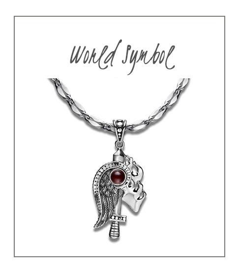 World Symbol Necklace