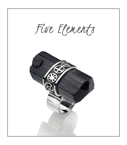 Ring 5 Elements Protection